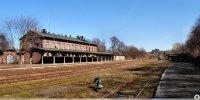 Dworzec kolejowy w dzielnicy Centrum