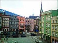 Zabytkowy Rynek w dzielnicy Centrum